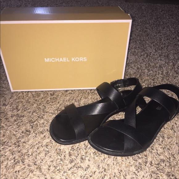 c5554fe3cf Michael Kors Shoes | Mackay Sandal Size 7 | Poshmark